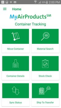 MyAirProducts Container Tracking apk screenshot