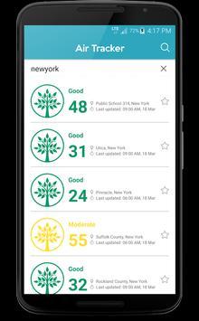 Air Tracker: Air Quality Score apk screenshot