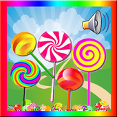 Learn Colors for Kids with Lollipops icon