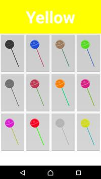 Learn Colors for Kids with Lollipops apk screenshot