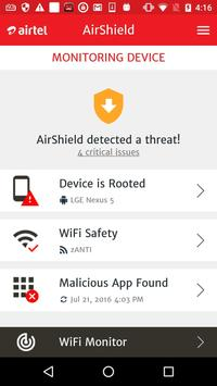 AirShield apk screenshot