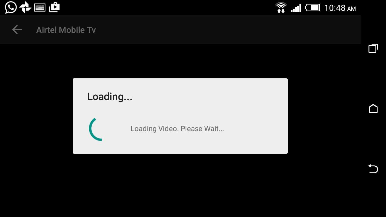 Airtel Live Error In Application
