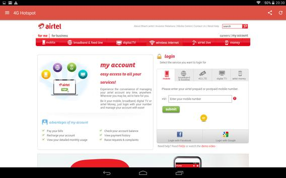 4G wifi Hotspot Airtel Huawei for Android - APK Download