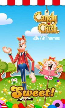 Candy Crush Android Theme poster