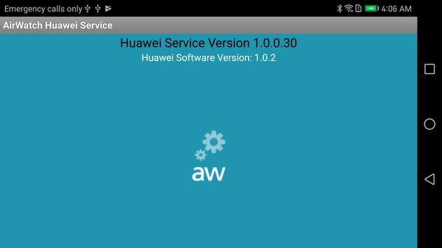 AirWatch Service for Huawei apk screenshot