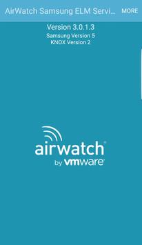 AirWatch Samsung ELM Service apk screenshot