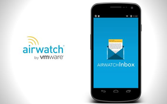 AirWatch Inbox poster