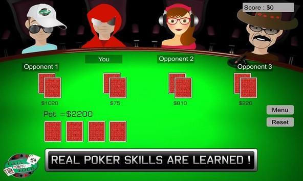 Call Or Fold Poker Training screenshot 1