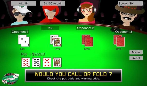 Call Or Fold Poker Training screenshot 5