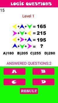 Visual Logic Questions screenshot 4