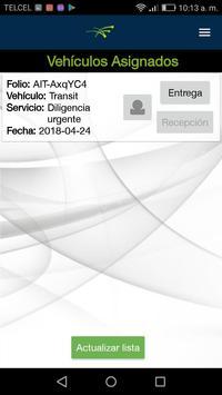 Control vehicular screenshot 1