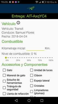 Control vehicular screenshot 2