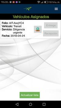 Control vehicular screenshot 3
