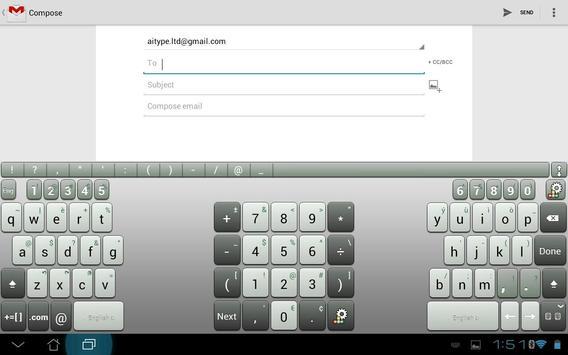 A.I.タブレットキーボード スクリーンショット 7