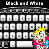 Black and White Keyboard icon