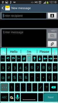 A. I. type Black Blue א apk screenshot