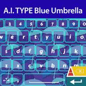 A. I. Type Blue Umbrella א icon