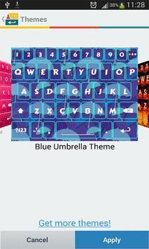 A. I. Type Blue Umbrella א apk screenshot