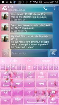 Theme for A.I.type Flower א apk screenshot