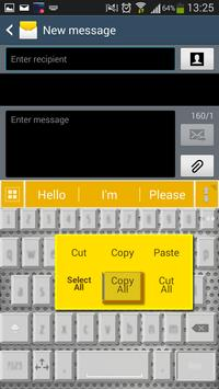 A.I. Type Gold א apk screenshot