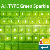 A. I. Type Green Sparkle א icon