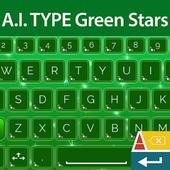 A. I. Type Green Stars א icon