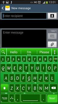 A. I. Type Green Stars א apk screenshot