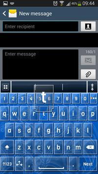 A.I. Type Blue Glass א apk screenshot