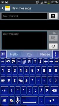 A.I. Type Blue Smoke א apk screenshot