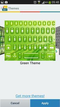 A.I. Type Green א apk screenshot