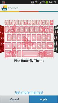 A.I. Type Pink Butterfly א apk screenshot