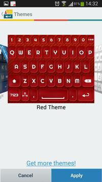 A.I. Type Red א apk screenshot