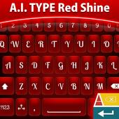 Red Shine Keyboard icon