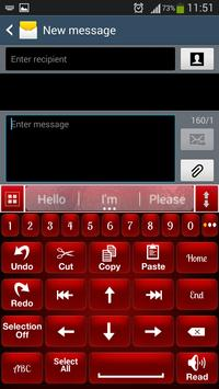 Red Shine Keyboard screenshot 3