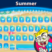 A.I. Type Summer Keyboard א icon