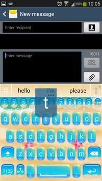 A.I. Type Summer Keyboard א screenshot 5