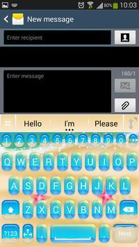 A.I. Type Summer Keyboard א screenshot 1