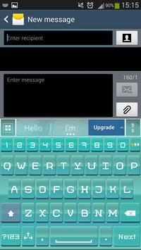 A.I. Type Summer Teal screenshot 1