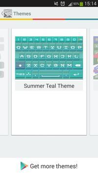 A.I. Type Summer Teal screenshot 6