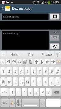 A.I. Type White א apk screenshot