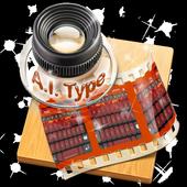 Orange Power AiType Skin icon