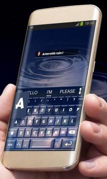 Asteroids rain AiType Skin screenshot 6