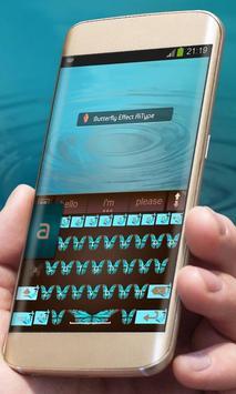 Butterfly Effect AiType Skin apk screenshot