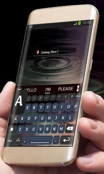 Galaxy flare AiType Skin apk screenshot
