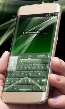 Green heaven AiType Skin apk screenshot