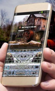 Haunted mill AiType Skin apk screenshot