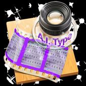 Mauve inspiration AiType Theme icon