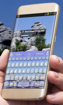 Mountain View AiType Theme apk screenshot