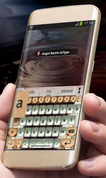 Angel Battle AiType Theme apk screenshot