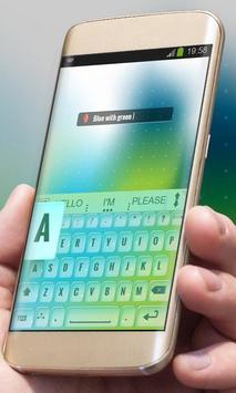 Blurry Pastels AiType Theme apk screenshot